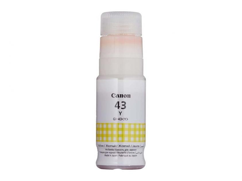 Ink Canon GI-43 Yellow (4689C001)