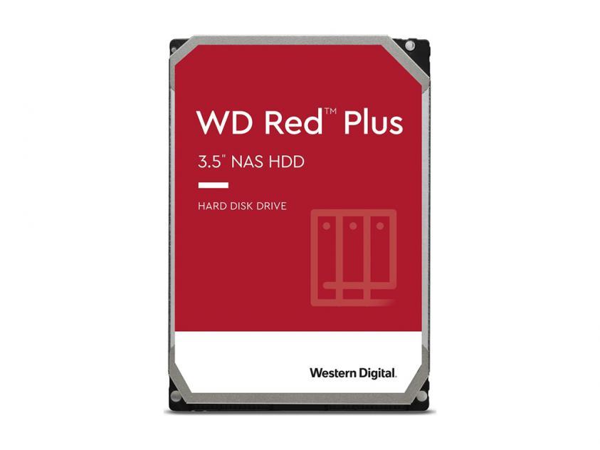 Internal HDD Western Digital Red Plus NAS 3TB SATA III 3.5-inch (WD30EFZX)
