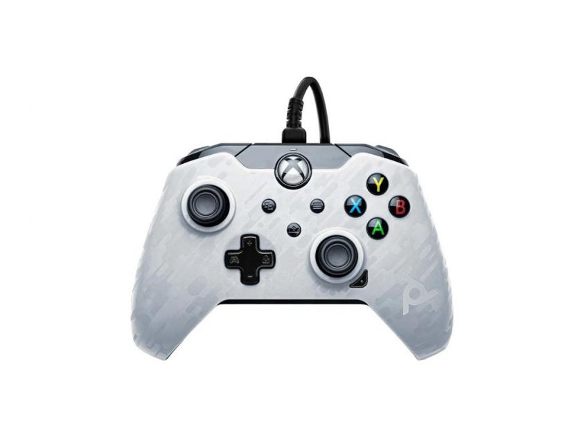 Controller PDP XΒΟΧ/PC White Camo Wired (049-012-EU-CMWH)