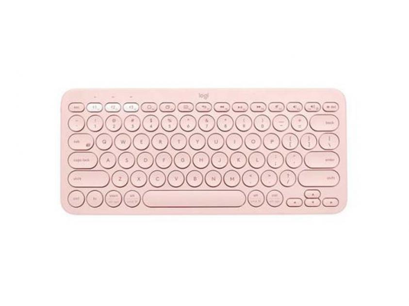 Keyboard Logitech K380 Multi Rose UK Layout (920-009590)