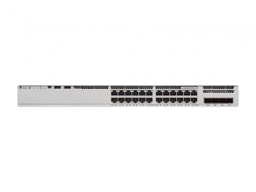 Switch Cisco Catalyst 9200L 24-Port 10/100/1000 Mbps PoE (C9200L-24P-4G-E)