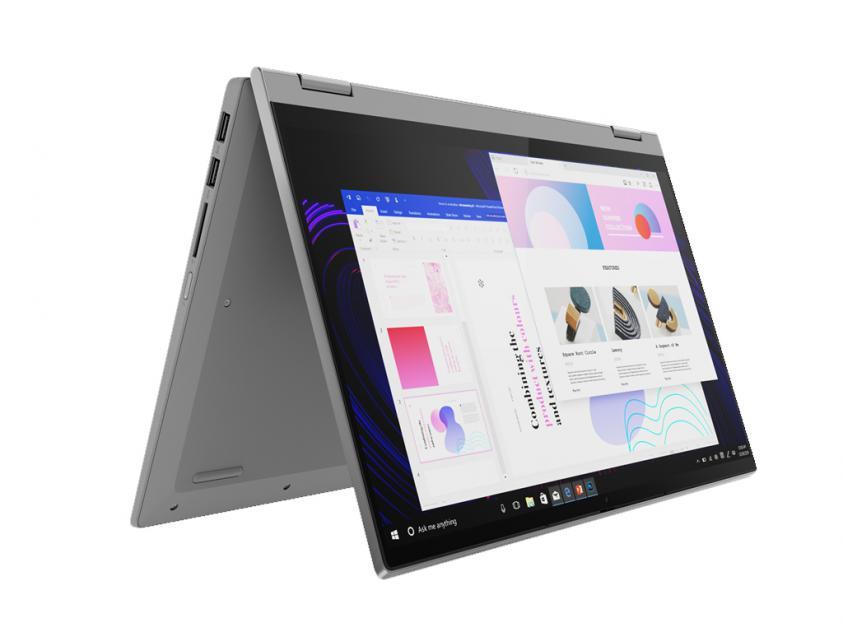 Laptop Lenovo IdeaPad Flex 5 Convertible 14-inch Touch R7-4700U/16GB/512GB/W10S/2Y/Platinum Grey (81X2006MGM)