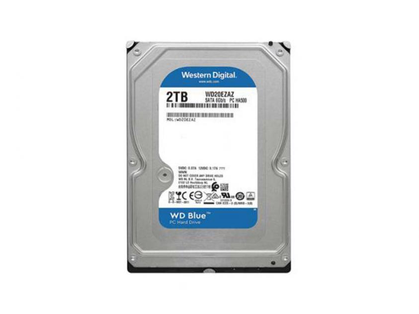 Internal HDD Western Digital Blue 2TB SATA III 3.5-inch (WD20EZAZ)