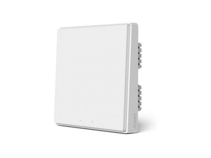 Aqara Smart Wall Switch D1 Xiaomi Without Neutral Single Rocker (QBKG21LM)