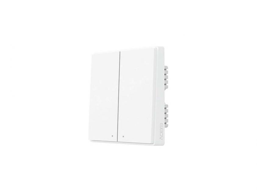 Wall Plug Aqara Smart Home Switch D1 Xiaomi Mi Mijia Double Gang Zero Fire Zigbee (QBKG24LM)