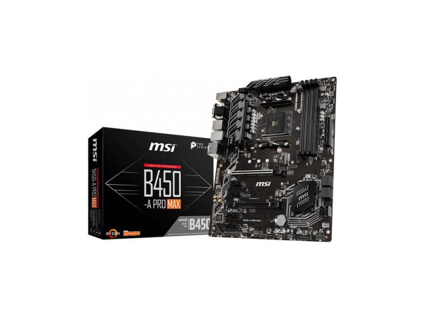 Motherboard MSI B450-A Pro Max (911-7B86-022)
