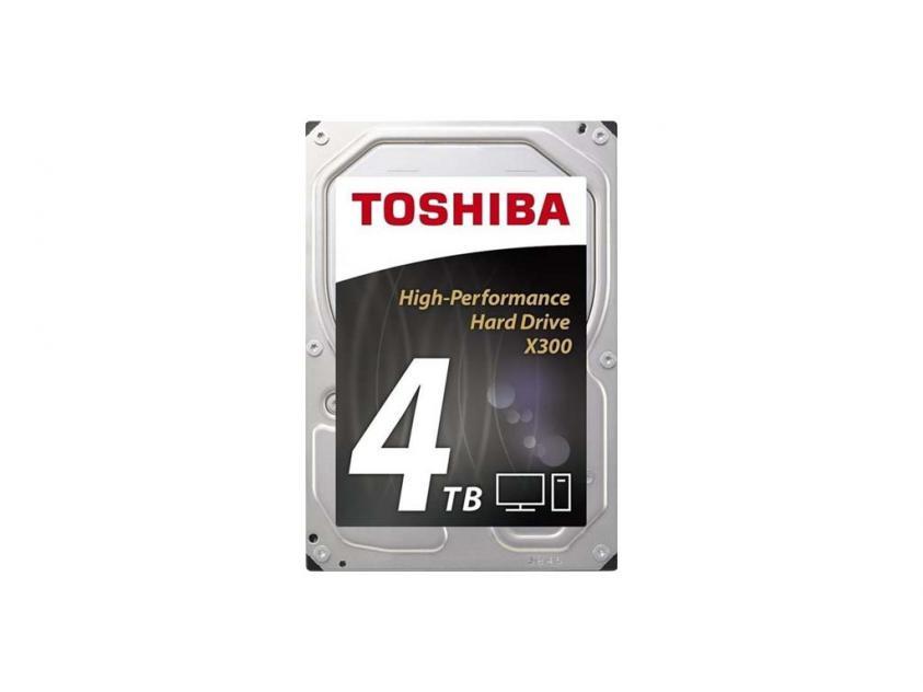 Internal HDD Toshiba X300 4TB SATA III 3.5-inch (HDWE140UZSVA)