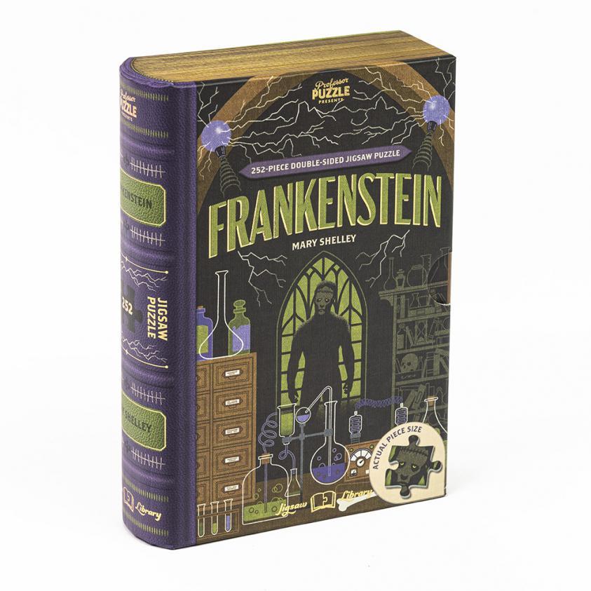 Jigsaw Frankenstein – 252 Piece Double-Sided (5056297206002)