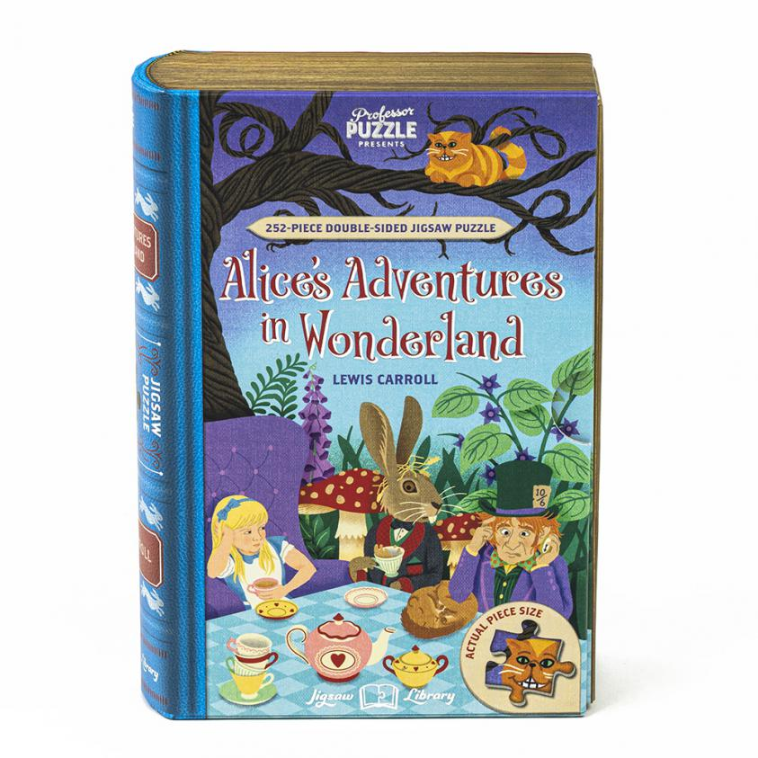 Jigsaw Alice In Wonderland – 252 Piece Double-Sided (5056297205982)