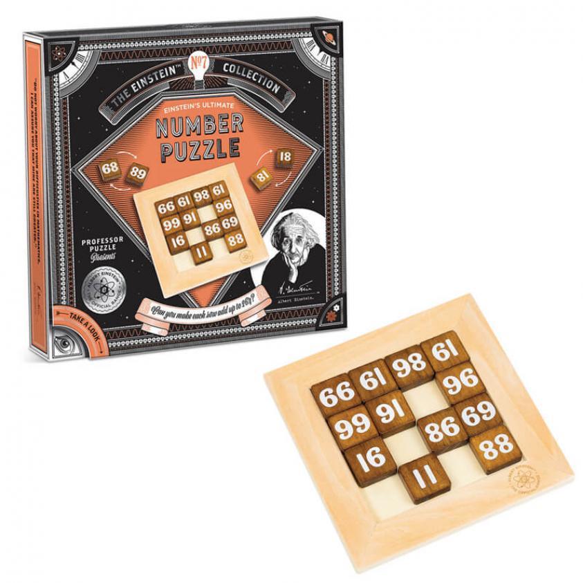 Puzzle Einstein's Number Puzzle (5060506534800)