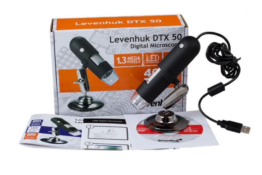 MICROSCOPE LEVENHUK DIGITAL DTX 50 (0611901508542)