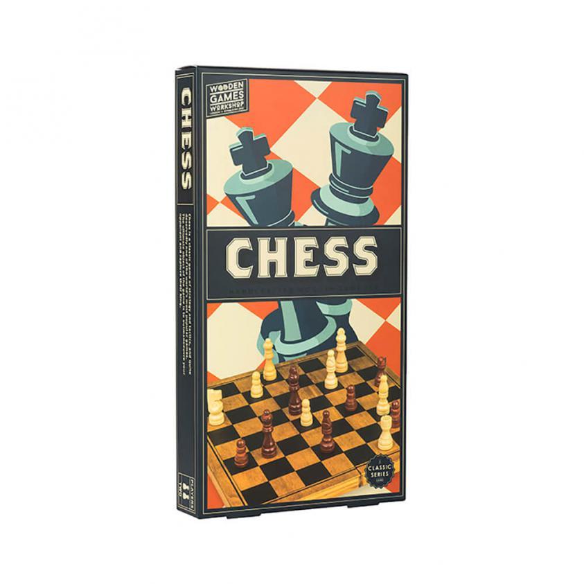 Vintage Board Games Wooden Games Workshop Chess (5060036537692)