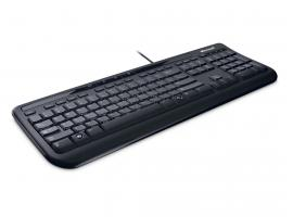 Πληκτρολόγιο Microsoft Wired 600 Black GR (ANB-00016)