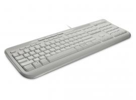 Πληκτρολόγιο Microsoft Wired 600 White GR (ANB-00031)