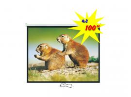 Projection Screen Brateck PEBC100 100-inch (PEBC100)