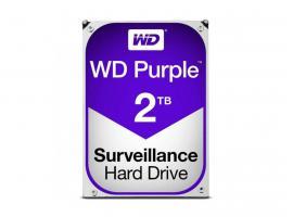 Εσωτερικός Σκληρός Δίσκος HDD Western Digital Purple 2TB SATA III 3.5-inch (WD20PURZ)