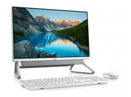 All-in-One Dell Inspiron 5400 23.8-inch Touch i7-1165G7/16GB/256GBSSD+1TBHDD/GeForce MX330/W10P/2Y (471442426)