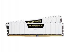 Μνήμη RAM Corsair Vengeance LPX 32GB DDR4 2666MHz CL16 White Kit (CMK32GX4M2A2666C16W)