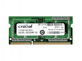 Μνήμη RAM Crucial CT51264BF160BJ 4GB DDR3 1600MHz CL11 (CT51264BF160BJ)