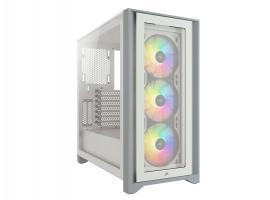 Κουτί Corsair iCUE 4000Χ RGB White (CC-9011205-WW)