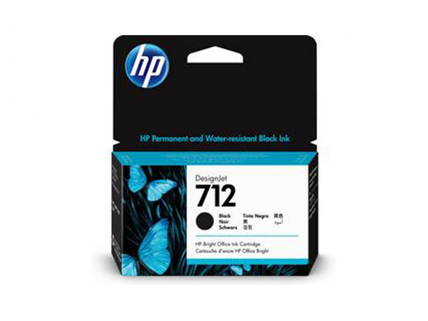 Ink HP 712 Black 38ml (3ED70A)