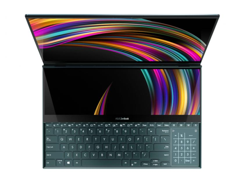 Laptop Asus Zenbook Duo UX481FL-WB701R 14-inch Touch i7-10510U/16GB/512GBSSD/GeForce MX250/W10P/1Y (90NB0P61-M06900)