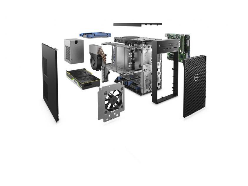 Workstation Desktop Dell Precision 3630 MT E-2224G/32GB/512GBSSD/W10P/5Y