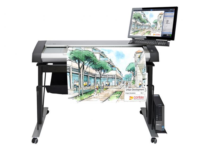 Scanner Contex IQ Quattro X 4450 ScanStation PRO Low Stand (5200D018046-5200D549-2200H017B31)