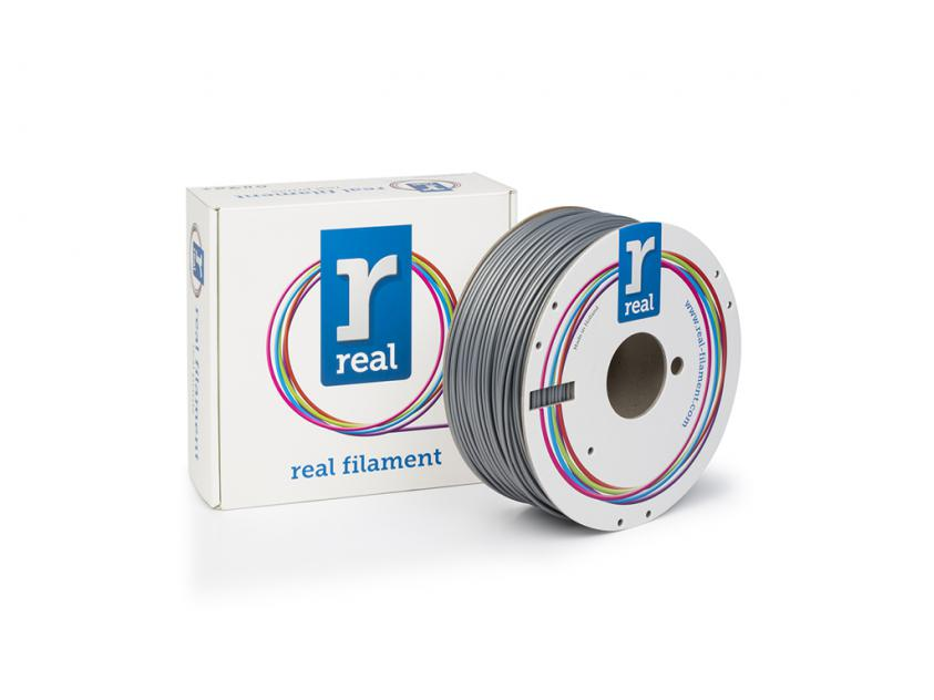 3D Printer Filament Real ABS 1.75mm Spool of 1Kg Silver (NLABSSILVER1000MM175)