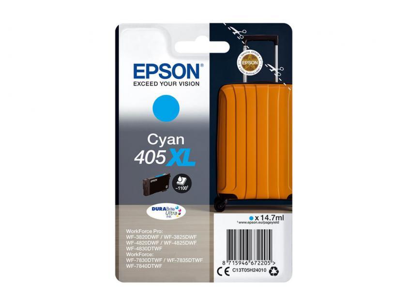 Ink Epson 405XL Cyan 1100Pgs (C13T05H24010)