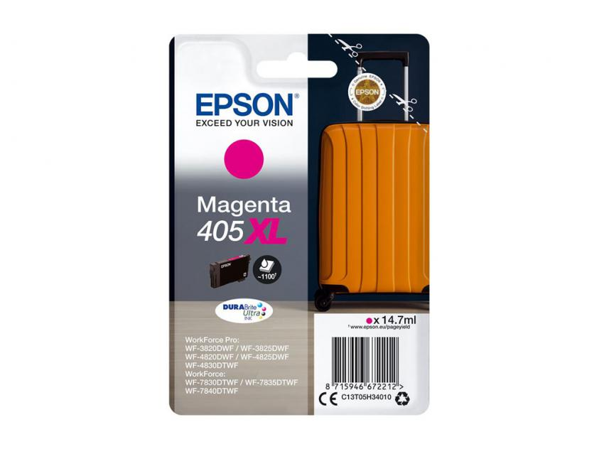 Ink Epson 405XL Magenta 1100Pgs (C13T05H34010)