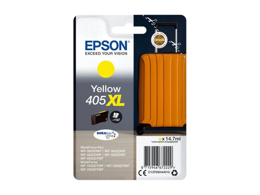 Ink Epson 405XL Yellow 1100Pgs (C13T05H44010)
