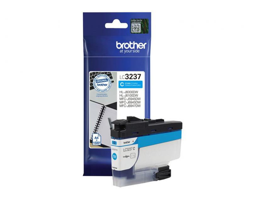 Ink Brother LC-3237C Cyan 1500Pgs (LC-3237C)