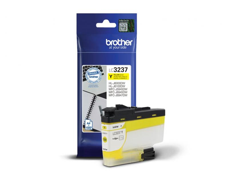 Ink Brother LC-3237Y Yellow 1500Pgs (LC-3237Y)