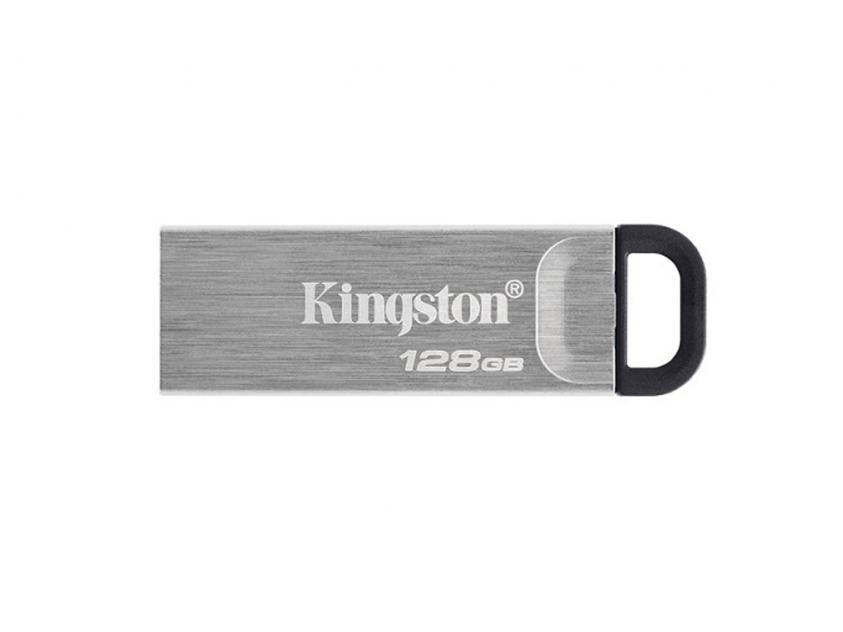 USB Flash Drive Kingston DataTraveler Kyson 128GB 3.2 Silver (DTKN/128GB)
