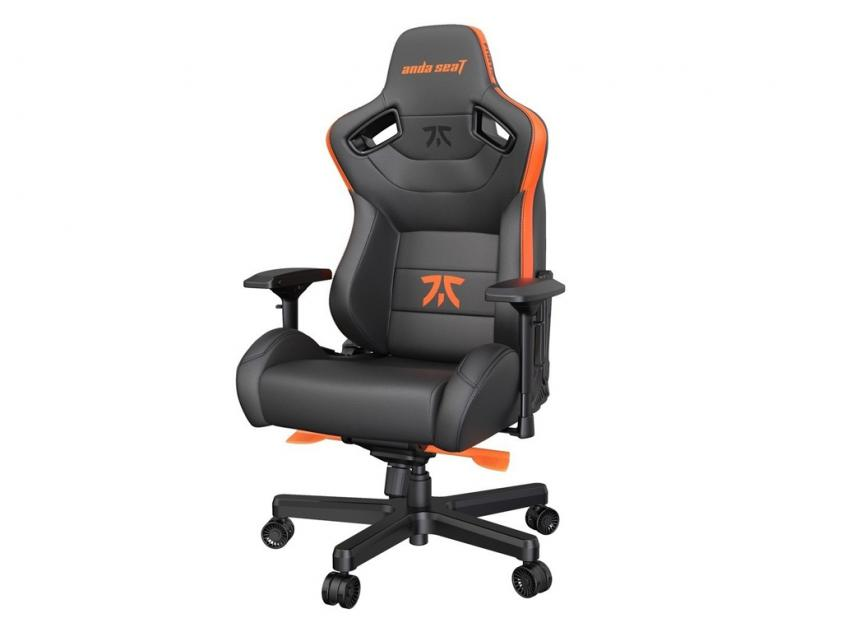 Gaming Chair Anda Seat Fnatic Edition Black/Orange (AD12XL-FNC-PV/F)