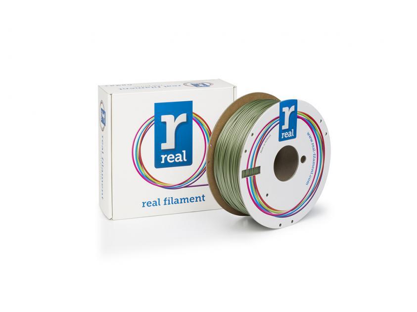 3D Printer Filament Real PETG 1.75mm Spool of 1Kg Brass (NLPETGBRASS1000MM175)
