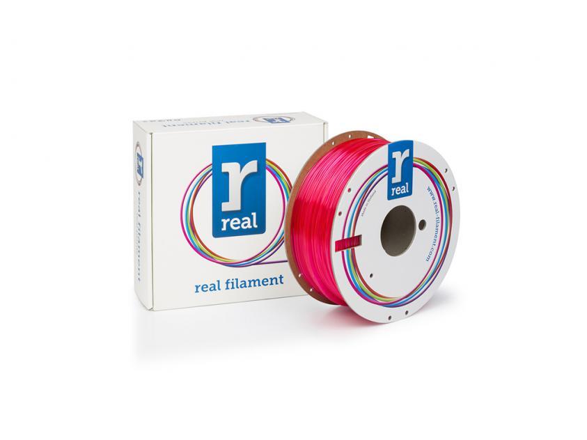 3D Printer Filament Real PETG 1.75mm Spool of 1Kg Translucent Magenta (NLPETGMAGENTA1000MM175)