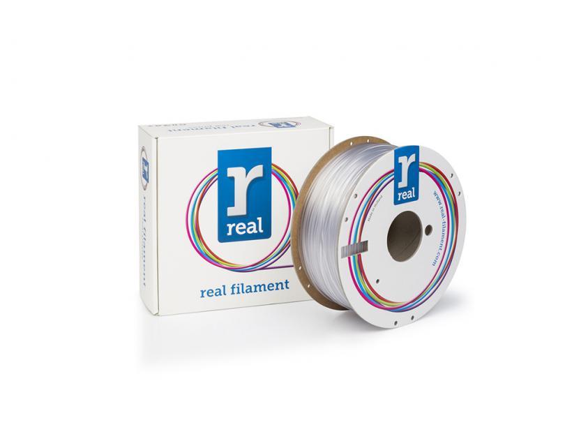 3D Printer Filament Real PETG 1.75mm Spool of 1Kg Neutral (NLPETGNEUTRAL1000MM175)