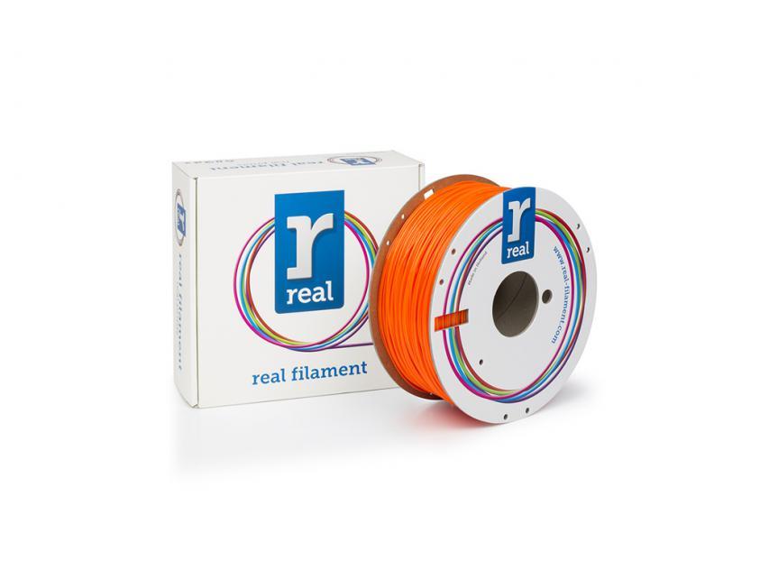 3D Printer Filament Real PETG 1.75mm Spool of 1Kg Translucent Orange (NLPETGORANGE1000MM175)