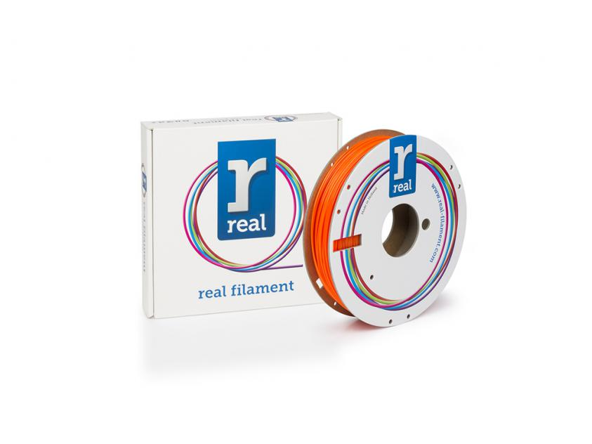3D Printer Filament Real PETG 1.75mm Spool of 0.5Kg Translucent Orange (NLPETGORANGE500MM175)