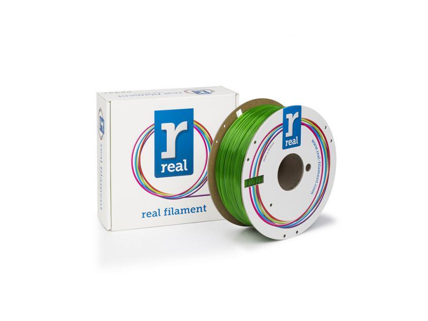3D Printer Filament Real PETG 1.75mm Spool of 1Kg Green (NLPETGSGREEN1000MM175)