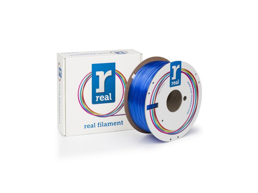 3D Printer Filament Real PETG 1.75mm Spool of 1Kg Translucent Blue (NLPETGBLUE1000MM175)