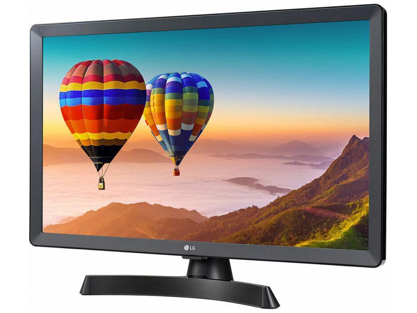 Monitor LG 24TN510S-PZ 23.6-inch Smart TV Black (24TN510S-PZ)