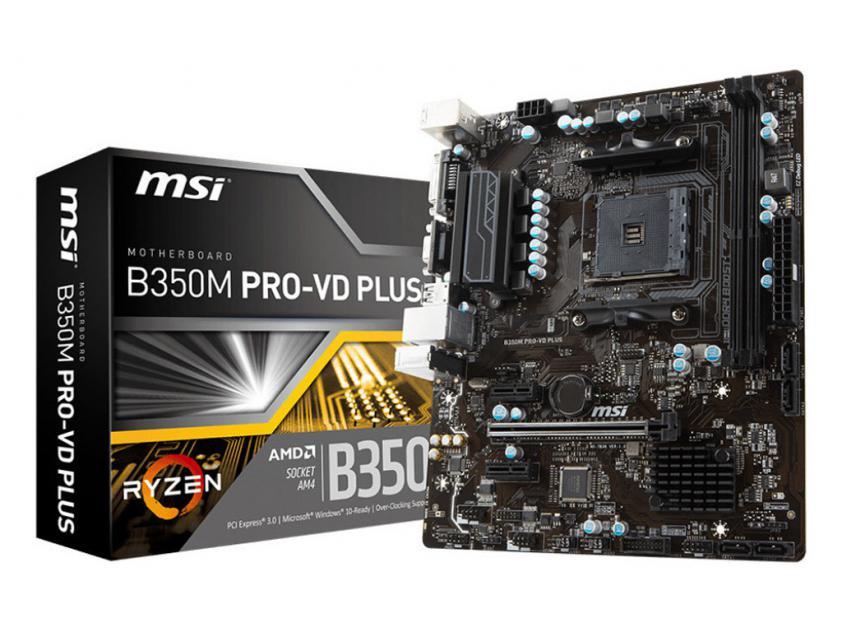 Motherboard MSI B350M PRO-VD Plus (7B38-004R)