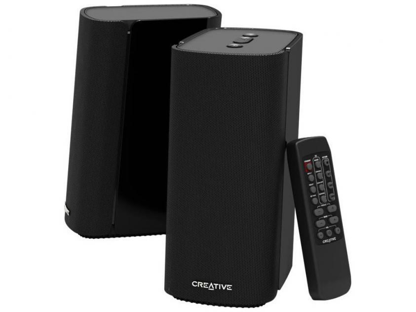 Portable Speaker Creative T100 Black (51MF1690AA000)