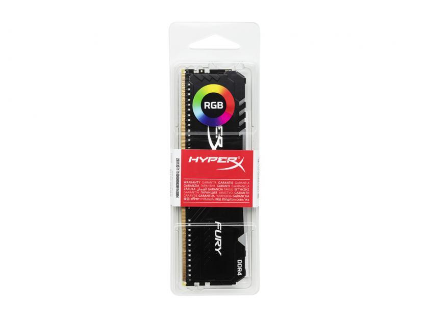 RAM Kingston HyperX Fury RGB 16GB DDR4 2666MHz (HX426C16FB3A/16)