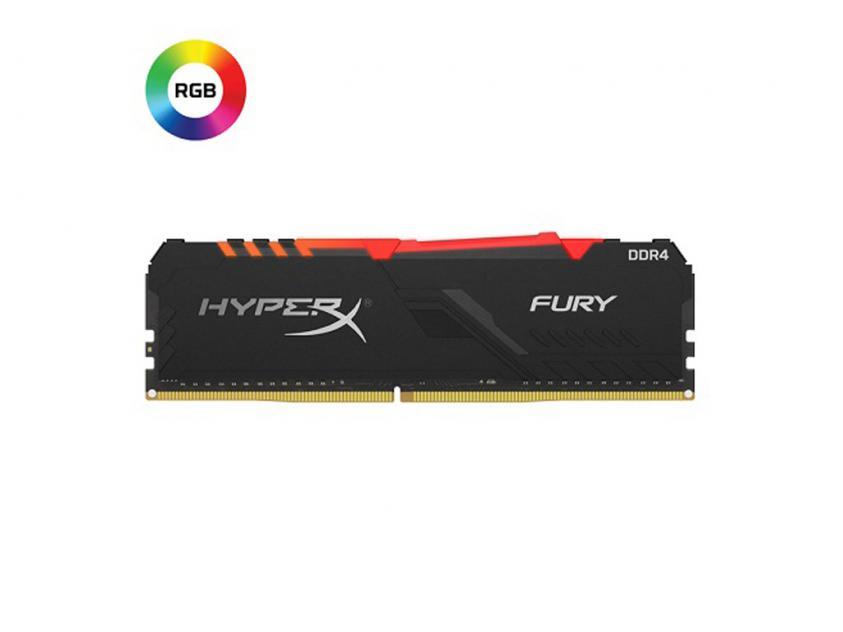 RAM Kingston HyperX Fury RGB 16GB (2x8GB) DDR4 3200MHz (HX432C16FB3AK2/16)
