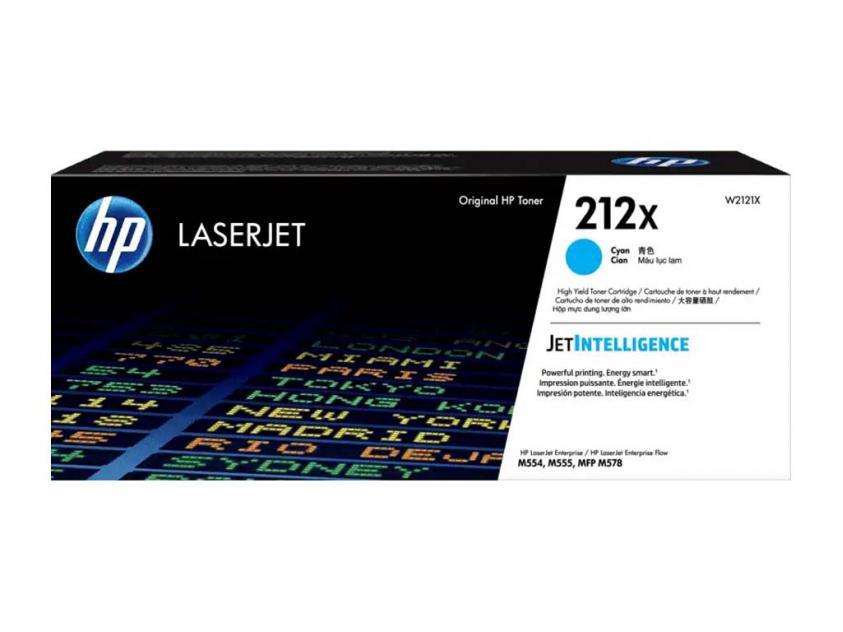 Toner HP 212X Cyan 10000Pgs (W2121X)