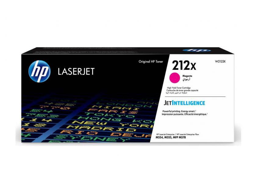 Toner HP 212X Magenta 10000Pgs (W2123X)